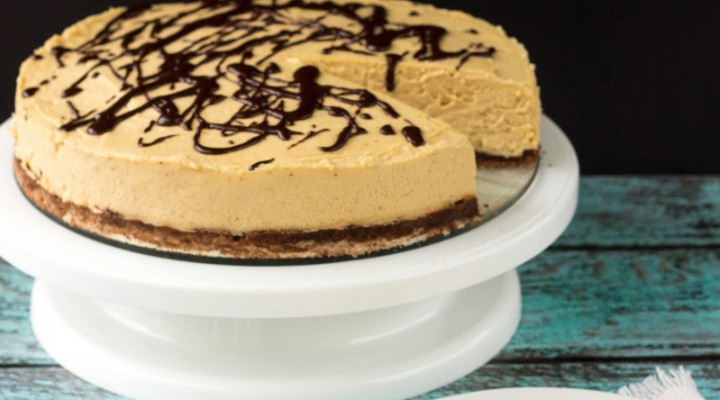 gluten-free-low-carb-no-bake-peanut-butter-cheesecake-recipe
