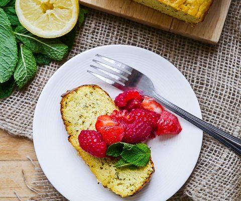 Almond Flour Lemon Zucchini Cake 2